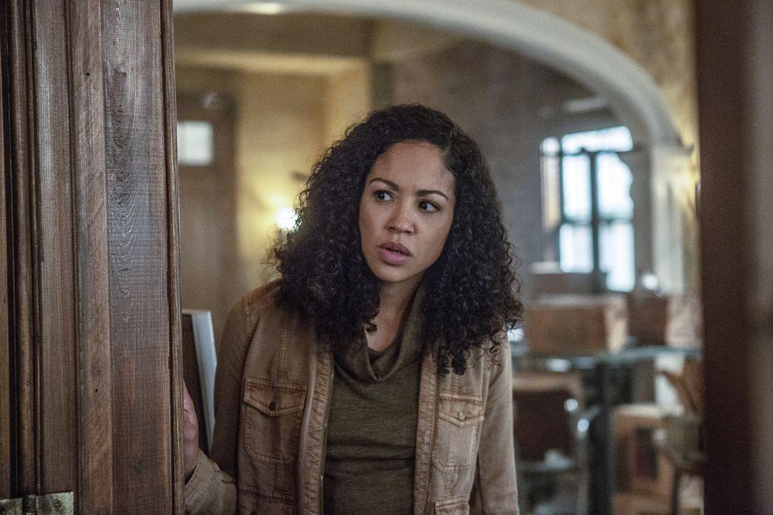 Ohne Halliday (Riann Steele) geht es nicht - welche Rolle spielt sie in dem Plan? - Bildquelle: Skip Bolen 2018 CBS Broadcasting, Inc. All Rights Reserved/ Skip Bolen