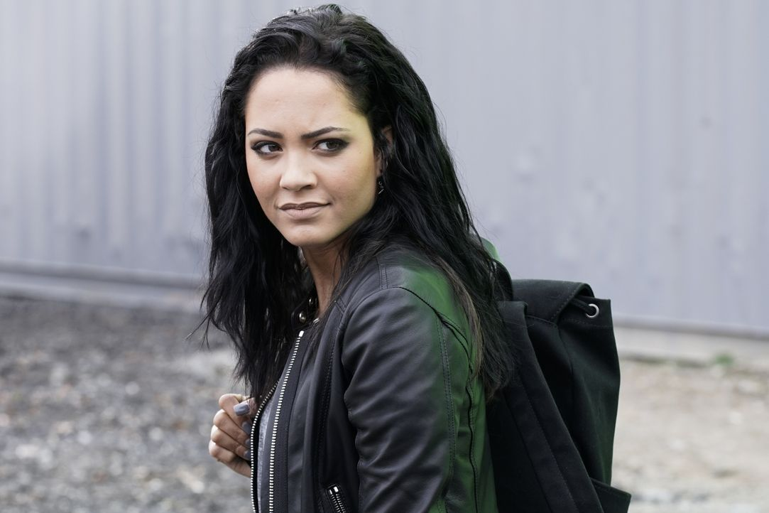 Riley Davis (Tristin Mays) - Bildquelle: Jace Downs 2018 CBS Broadcasting, Inc. All Rights Reserved / Jace Downs
