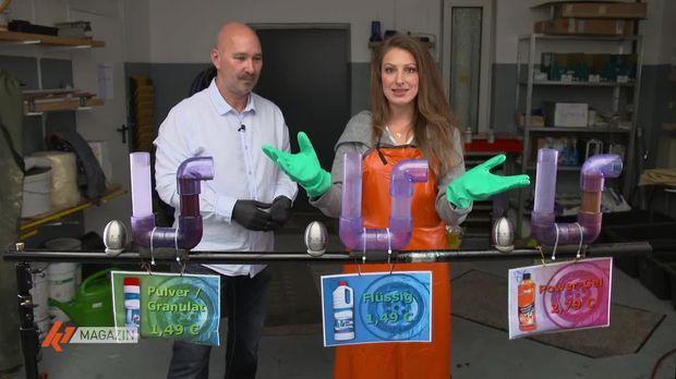 K1 Magazin - K1 Magazin - Thema U. A.: Mit Chemie Oder Saugglocke: Welcher Rohrreiniger Ist Der Beste?