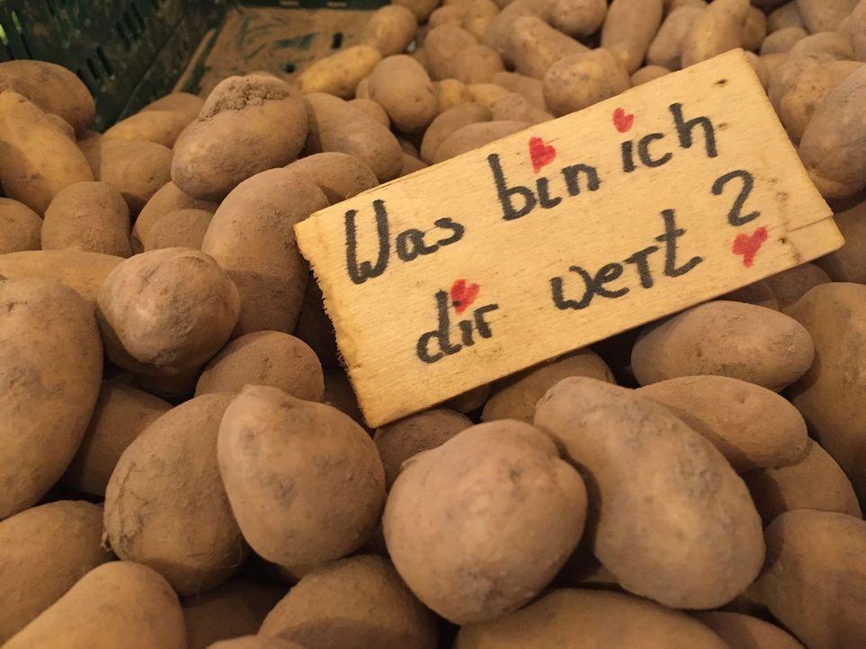 """Um die Lebensmittelverschwendung endlich einzudämmen, haben viele bereits gute Ideen entwickelt. Eine ist das Prinzip """"Zahl, was du willst"""" ... - Bildquelle: kabel eins"""