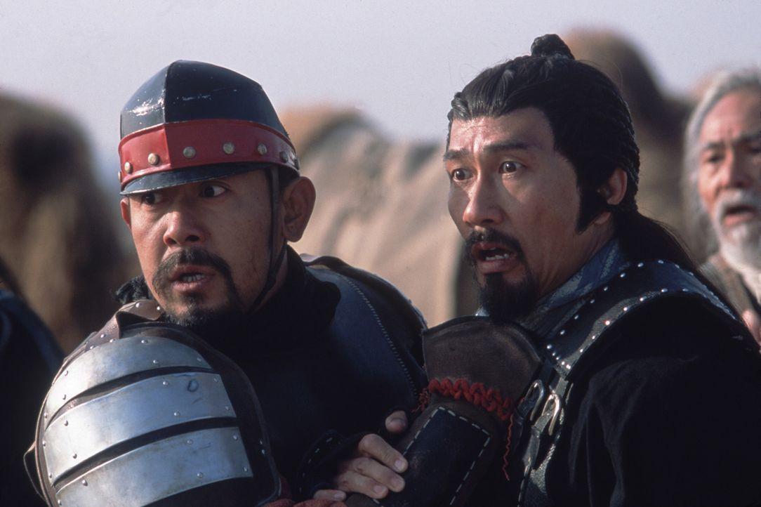 Nachdem er jahrzehntelang dem chinesischen Kaiser gedient hat, sehnt sich der Schwertkämpfer Lai Xi (Kiichi Nakai, r.) nach Japan zurück. Doch vorhe... - Bildquelle: Sony Pictures Television International. All Rights Reserved.
