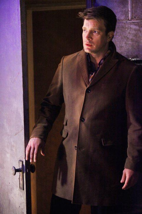 Als Castle (Nathan Fillion) durch Zufall eine längst verflossene Liebe wieder trifft, bringt das seine Gefühle ziemlich durcheinander ... - Bildquelle: ABC Studios