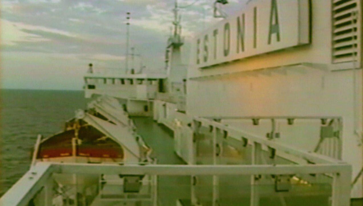Die größten Tragödien: der spektakuläre Untergang der Estonia ... - Bildquelle: kabel eins