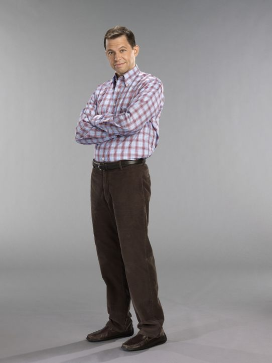 (9. Staffel) - Sein Leben ist alles andere als perfekt: Alan Harper (Jon Cryer) ... - Bildquelle: Warner Brothers Entertainment Inc.