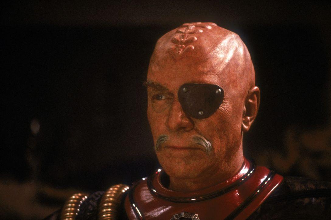 Der ruchlose Klingonen Gen. Chang (Christopher Plummer) setzt alles daran, die Bemühungen des historischen Friedensgipfels zu zerstören ? - Bildquelle: Paramount Pictures