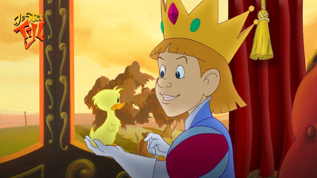 Der kleine König Rupert hat nur noch Augen für seine Ente Ducky und ahnt nicht, dass er in Gefahr ist … - Bildquelle: Capella Films International