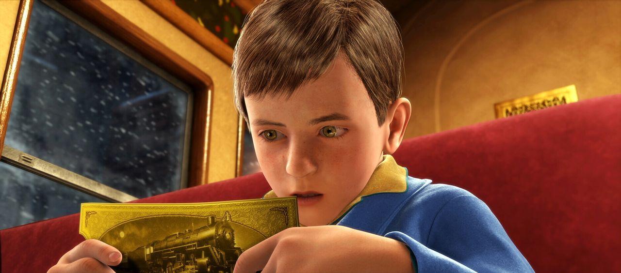 Ein zweifelnder kleiner Junge fährt mit dem außergewöhnlichen Zug bis zum Nordpol - auf dieser Reise entdeckt er auch sich selbst und erfährt, dass... - Bildquelle: Warner Bros. Pictures