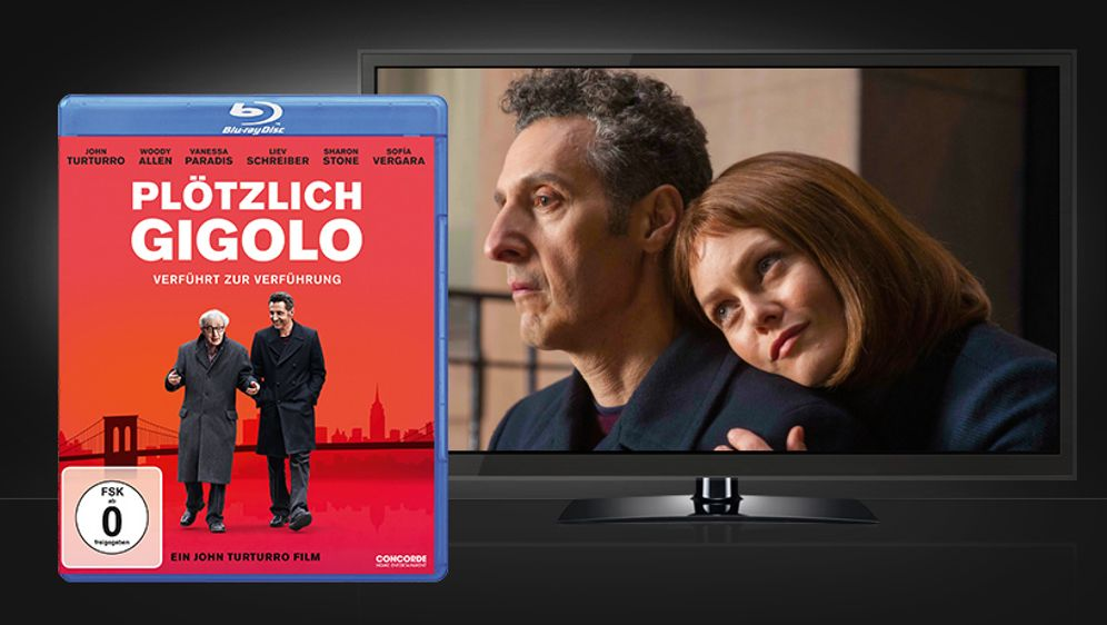 Plötzlich Gigolo (Blu-ray Disc) - Bildquelle: Concorde Home Entertainment