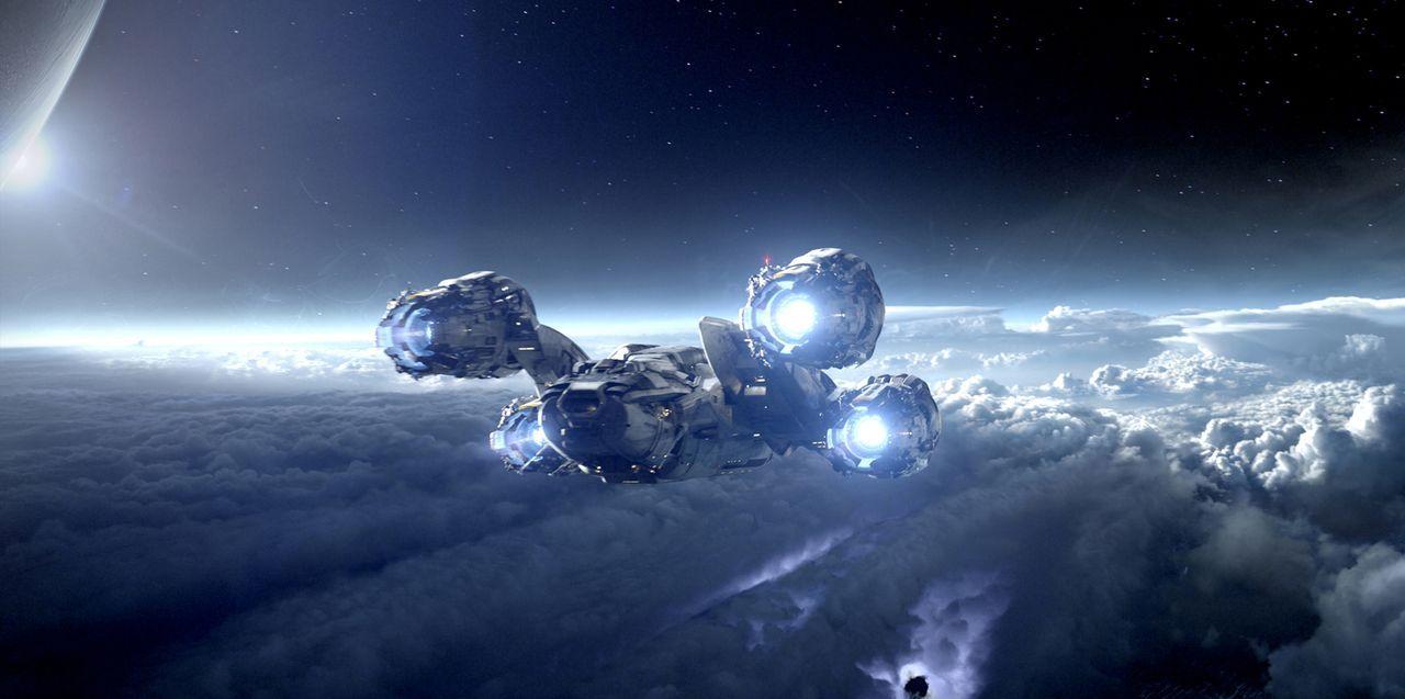 """Mit dem Raumschiff """"Prometheus"""" macht sich ein Forscherteam auf dem Weg zu dem Planeten LV-223. Kaum dort angekommen, erwartet die Besatzung ein mör... - Bildquelle: TM and   2012 Twentieth Century Fox Film Corporation.  All rights reserved."""