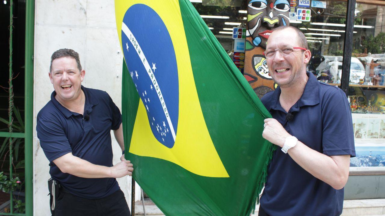 Brasilien, wir kommen! - Bildquelle: kabel eins