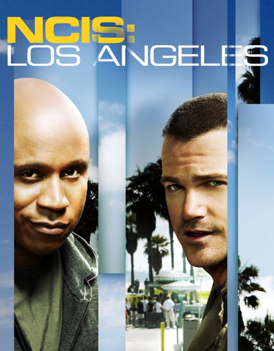 (3. Staffel) - Navy CIS: L.A.: Special Agent G. Callen (Chris O'Donnell, r.) und Special Agent Sam Hanna (LL Cool J, l.) ... - Bildquelle: CBS Studios Inc. All Rights Reserved.