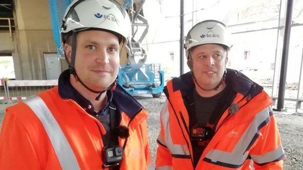 Achtung Kontrolle - Achtung Kontrolle! - Thema U.a.: Ungesichert In 4 Meter Höhe - Baustellenkontrolle Dortmund
