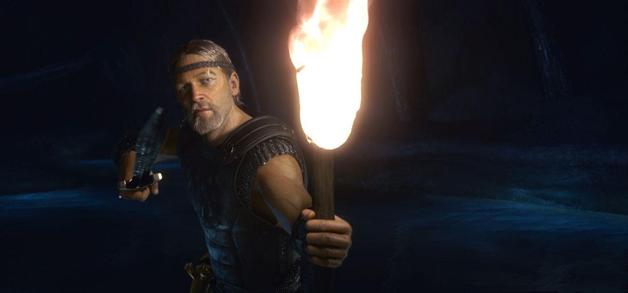 Als der erfahrene Krieger Beowulf (Ray Winstone) erfährt, dass ein blutrünstiges Monster das Königreich von König Hrothgar tyrannisiert, beschließt... - Bildquelle: 2007 Warner Brothers International Television Distribution Inc.