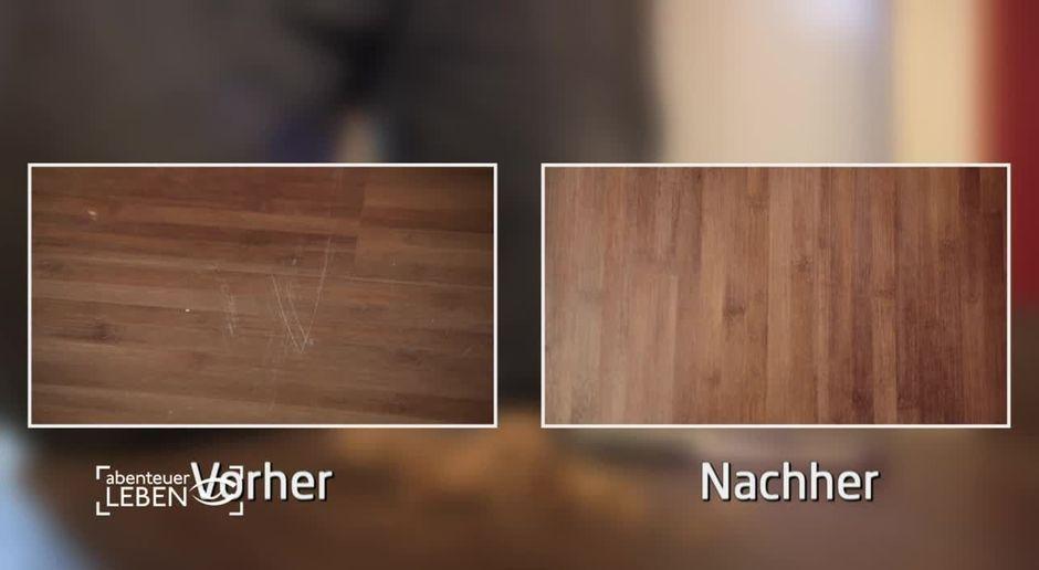 Kratzer-aus-Laminat-entfern-Trick