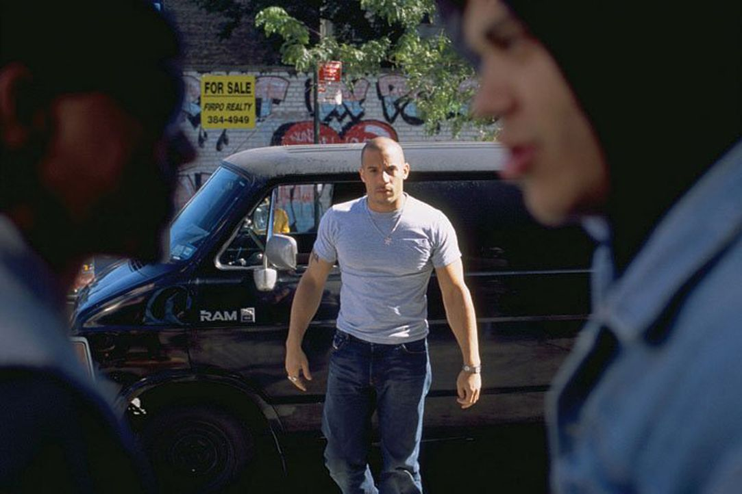Streitereien schlichtet Taylor Reese (Vin Diesel, M.) auf seine eigene Art und Weise ...