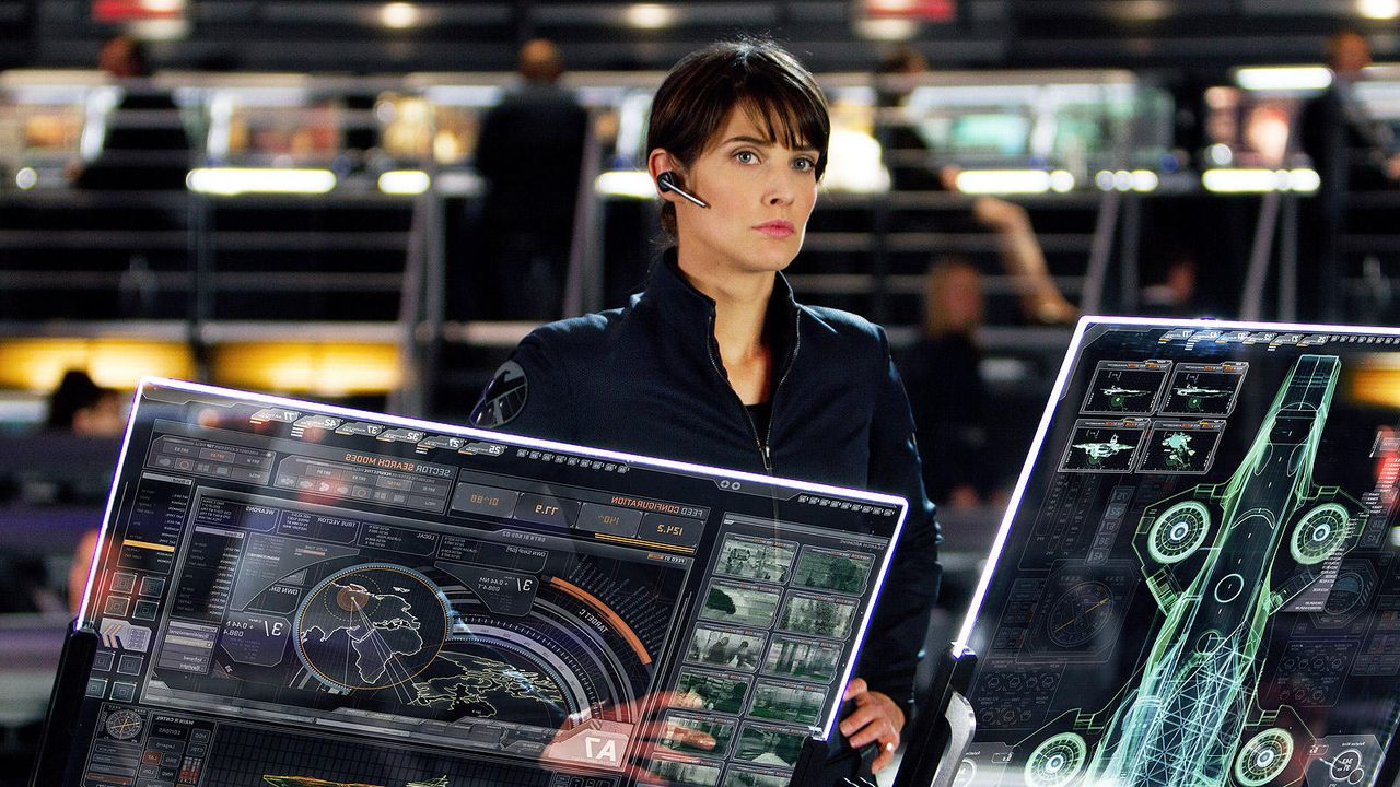 "Cobie Smulders in ""The Avengers"" - Bildquelle: 2011 MVLFFLLC TM & 2011 Marvel"