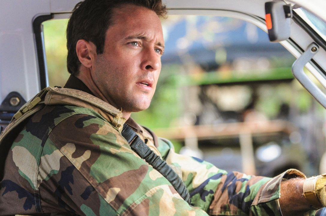 Gibt alles, um ein Versprechen einzulösen: Steve (Alex O'Loughlin) ... - Bildquelle: 2013 CBS Broadcasting, Inc. All Rights Reserved.