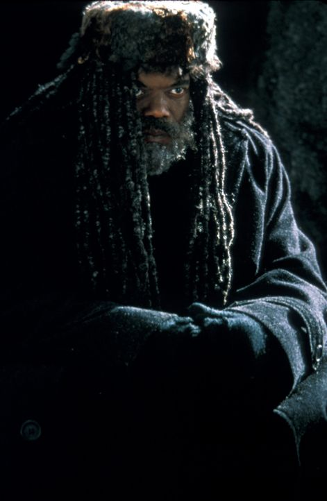 Einst war Romulus (Samuel L. Jackson) ein talentierter Pianist, heute jedoch hört er Stimmen und lebt in einer Höhle im Park. Als dort eine Leiche... - Bildquelle: Francise Productions