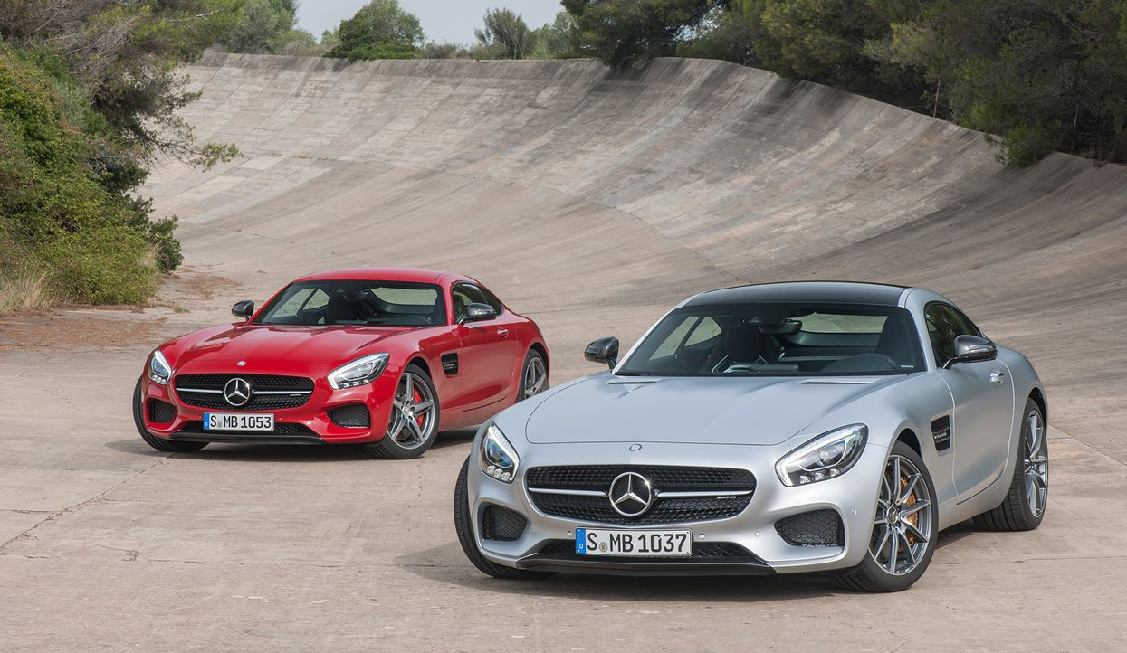 Mercedes AMG GT (9) - Bildquelle: press photo, do not use for advertising purposes