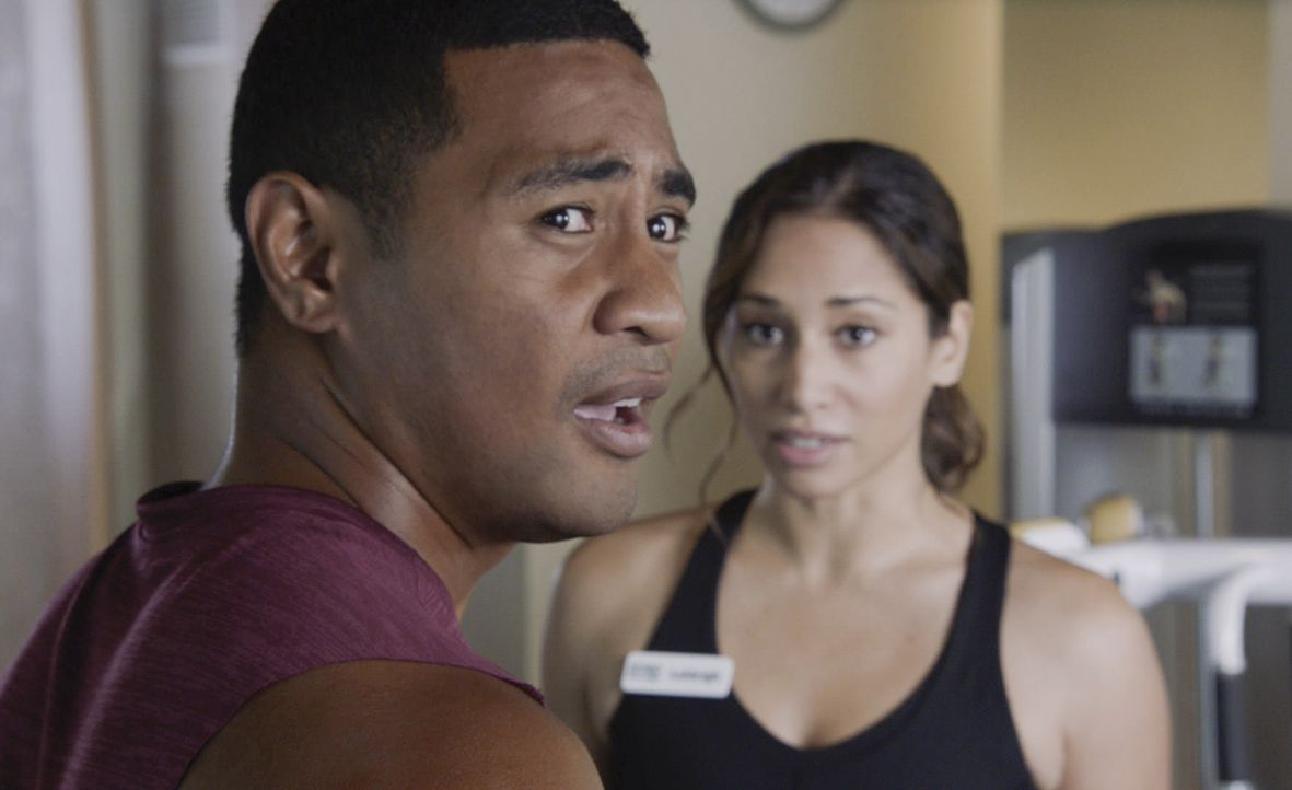 Junior Reigns (Beulah Koale, l.); Tani Rey (Meaghan Rath, r.) - Bildquelle: 2019 CBS Broadcasting, Inc. All Rights Reserved