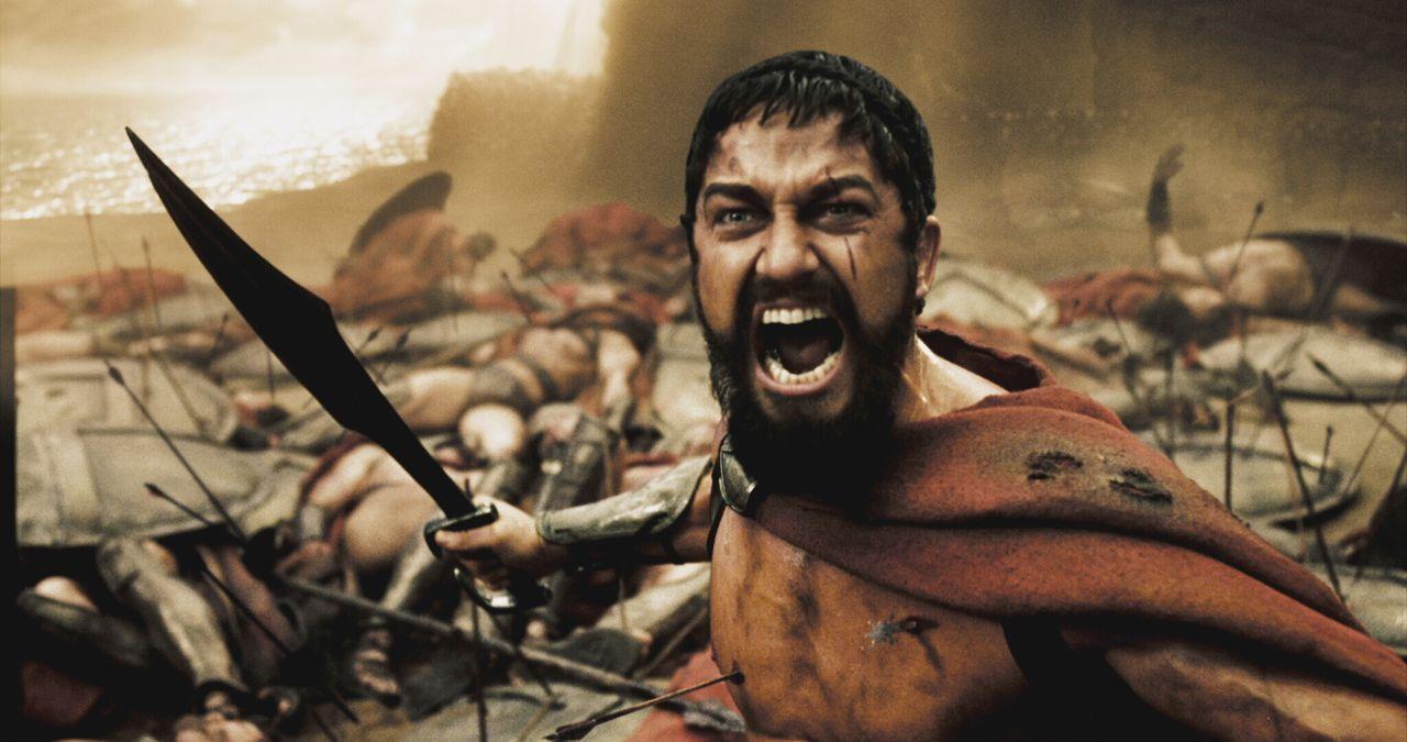 Im Jahre 480 vor Christus marschiert der persische Großkönig Xerxes mit einer riesigen Armee nach Griechenland. Als Leonidas I. (Gerard Butler), Kön... - Bildquelle: TM & © Warner Bros. Entertainment Inc.