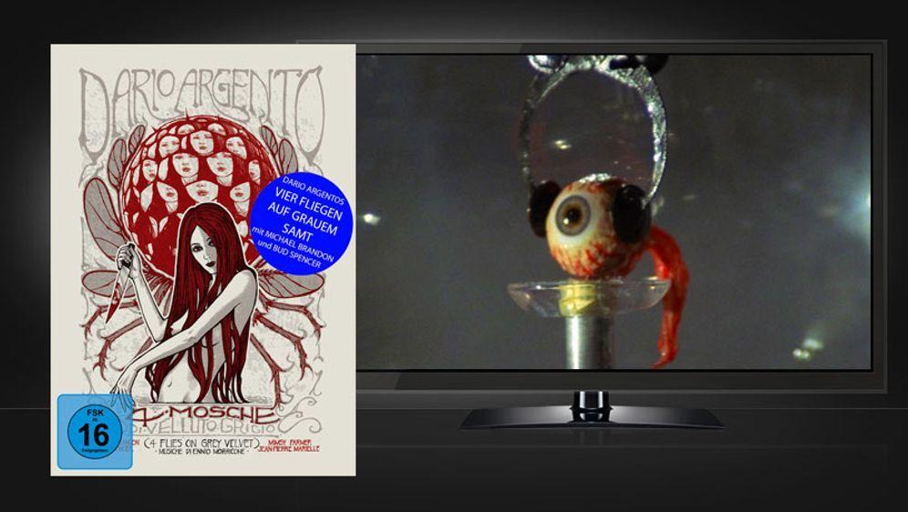 Vier Fliegen auf grauem Samt (Blu-ray+DVD Mediabook) - Bildquelle: Koch Media