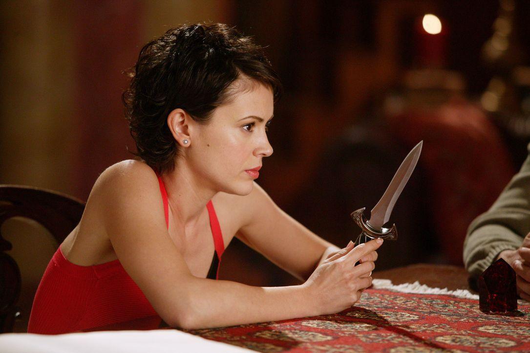 Phoebe (Alyssa Milano) lässt sich nicht von ihrer Spur abbringen  .... - Bildquelle: Paramount Pictures.