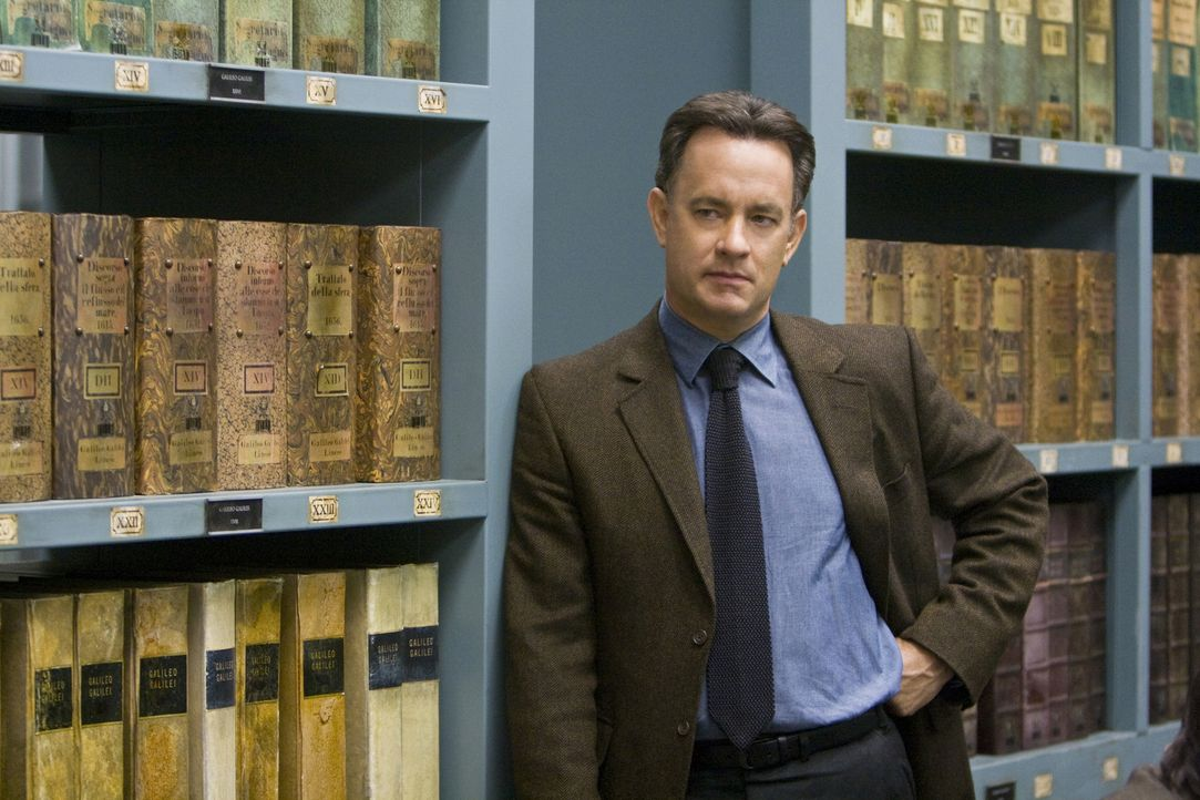 Der amerikanische Wissenschaftler Robert Langdon (Tom Hanks) findet in den geheimen Archiven des Vatikan Hinweise auf einen uralten konspirativen Ge... - Bildquelle: 2009 Columbia Pictures Industries, Inc. All Rights Reserved.