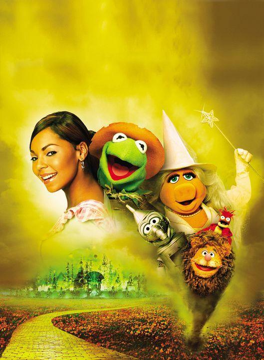 Eines Tages wird das junge Mädchen Dorothy Gale (Ashanti) von einem Tornado erfasst und ins ferne Land Oz gewirbelt. Dort trifft sie auf eine sprec... - Bildquelle: The Muppets Holding Company, LLC. MUPPETS characters and elements are trademarks of the Muppet Holding Company, LLC.  All rights reserved