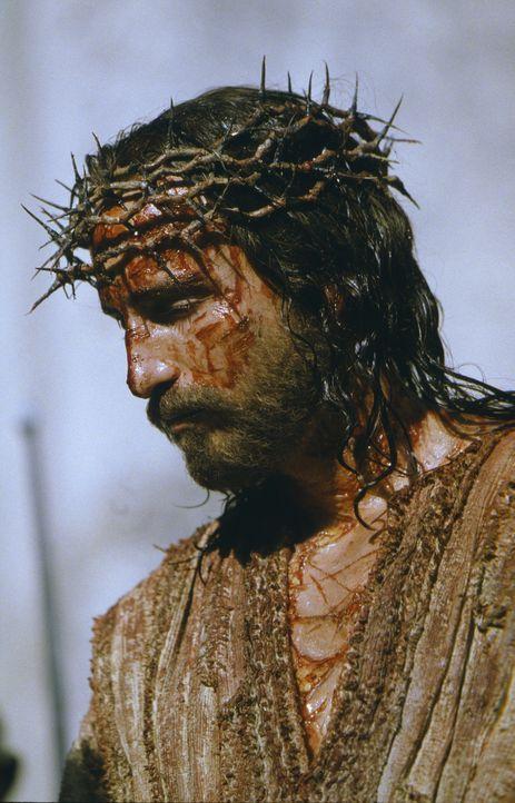 Als Jesus von Nazareth (James Caviezel) bekennt, der Messias zu sein, liefert ihn Pilatus an die Juden aus. Diese beschließen, seinen Anspruch, der... - Bildquelle: Icon Film Distribution Ltd.