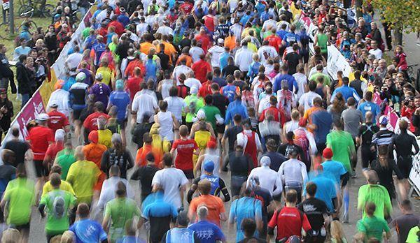 Teilnehmer beim Marathon in München - Bildquelle: runabout MÜNCHEN MARATHON