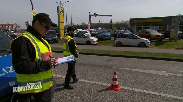 Achtung Kontrolle - Achtung Kontrolle! - Thema U.a.: Wegen Corona Verstärkte Kontrollen An Mecklenburger Landesgrenze