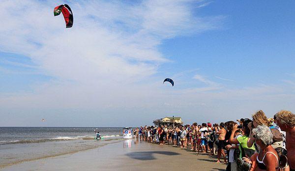 Kite Surf World Cup - Bildquelle: Tourismuszentrale Sankt Peter-Ording