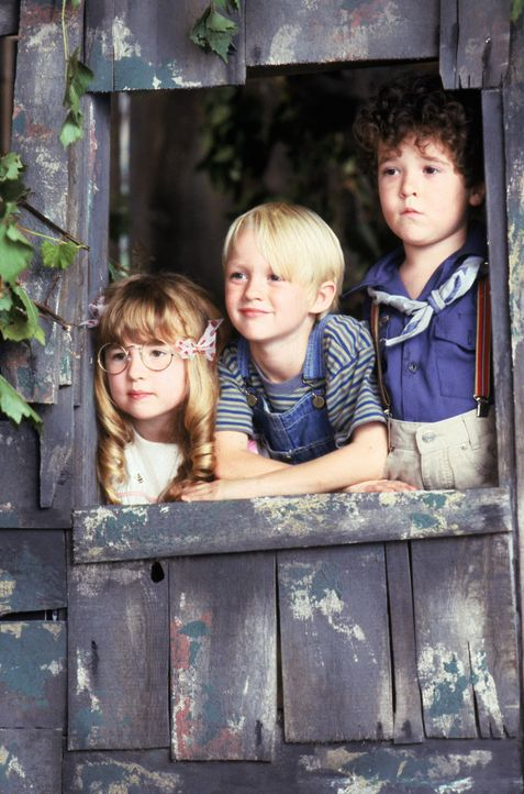 (v.l.n.r.) Margaret Wade (Amy Sakasitz); Dennis Mitchell (Mason Gamble); Joey (Kellen Hathaway) - Bildquelle: 1993 Warner Bros. Entertainment Inc. All Rights Reserved.