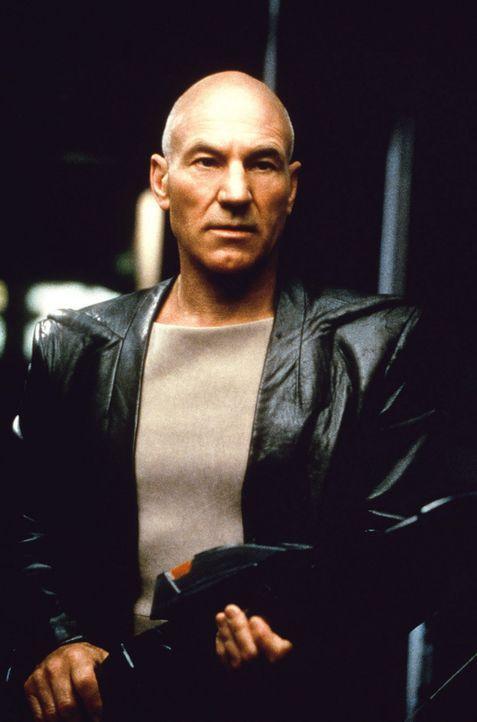 Captain Jean-Luc Picard (James Stewart) kämpft gegen eine Verschwörung ... - Bildquelle: Paramount Pictures