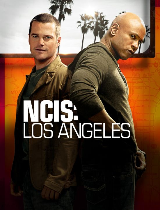 (8. Staffel) - Navy CIS: L.A.: Special Agent G. Callen (Chris O'Donnell, l.) und Special Agent Sam Hanna (LL Cool J, r.) ... - Bildquelle: 2016 CBS Studios Inc. All Rights Reserved.