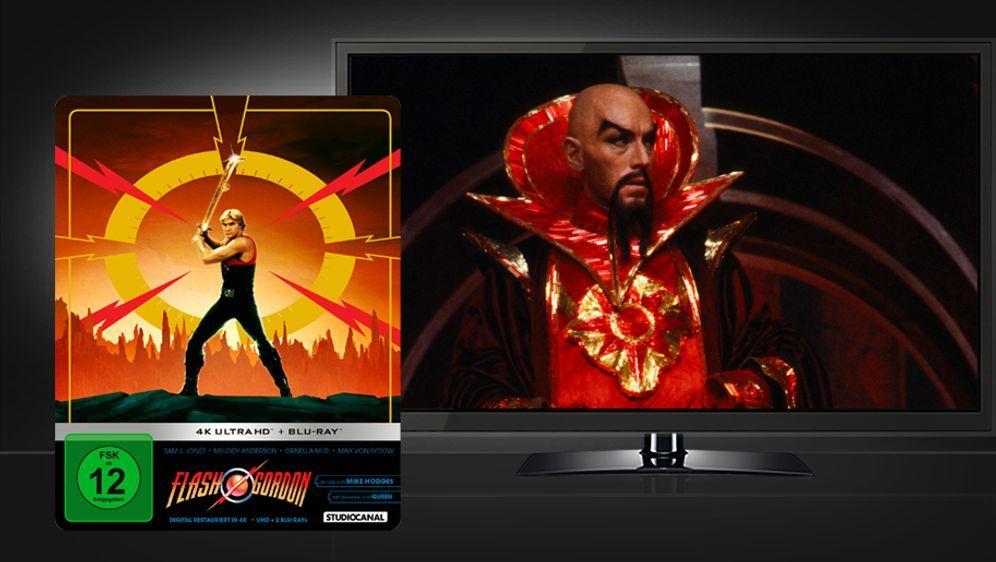 Flash Gordon (4K UHD + Blu-ray Disc) - Bildquelle: Studiocanal