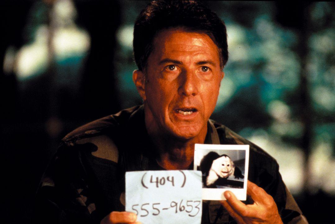 Sam Daniels (Dustin Hoffman) ist sich sicher – in diesem Tier lauert ein tödlicher Virus. Die größte medizinische Katastrophe der Menschheit steht b... - Bildquelle: Warner Brothers International Television Distribution Inc.