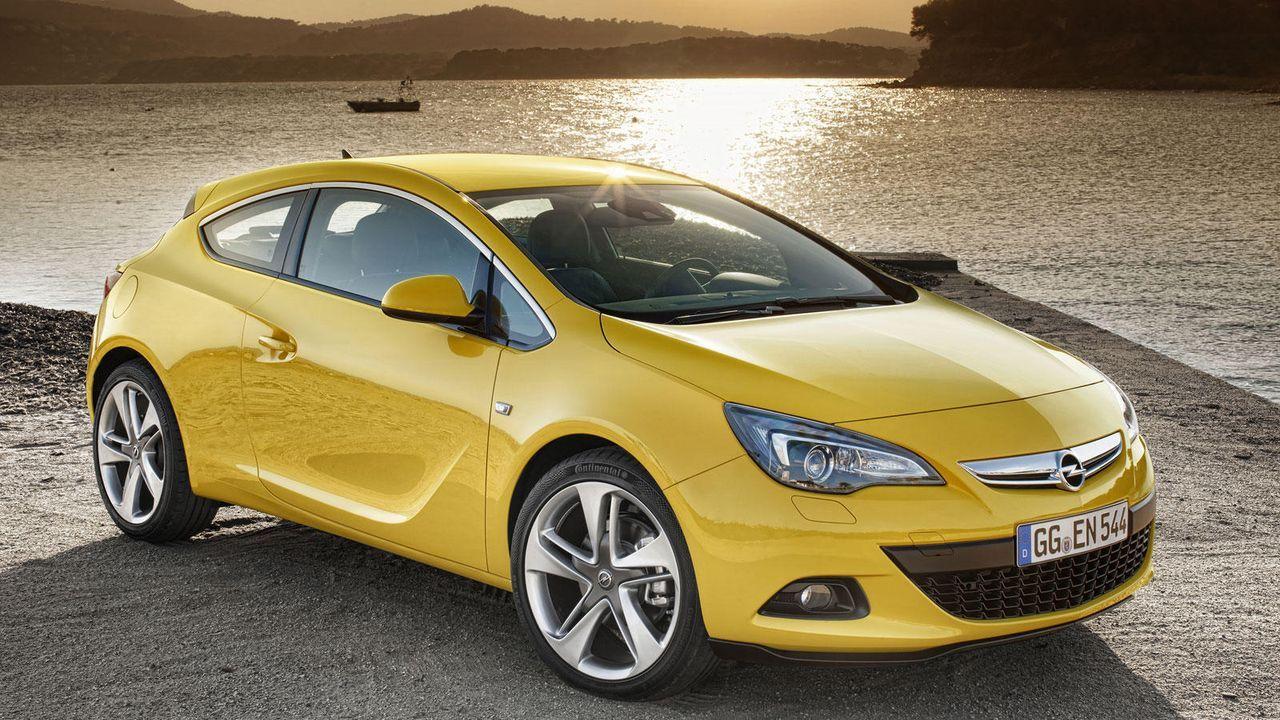 Astra J GTC - Bildquelle: Opel