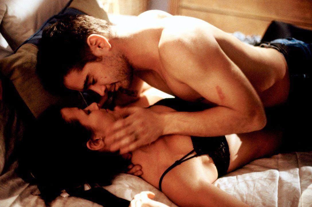 Zwischen den Nachwuchsspionen James (Colin Farrell, oben) und Layla (Bridget Moynahan, unten) beginnt eine leidenschaftliche Liebesgeschichte. Aller... - Bildquelle: SPYGLASS ENTERTAINMENT GROUP.LP.ALL RIGHTS RESERVED