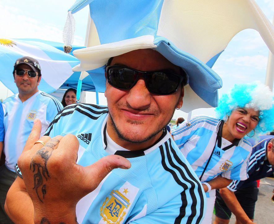 So feuert Argentinien an - Bildquelle: getty-AFP