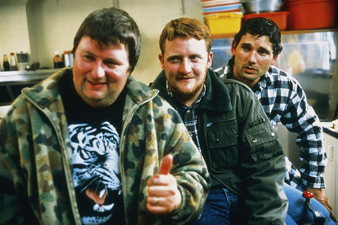 Auch blinde Hühner finden mal ein Korn: Sue (Dave O'Neil, l.), Wookie (Stephen Curry, M.) und Lotto (Eric Bana, r.) ... - Bildquelle: Overseas FilmGroup