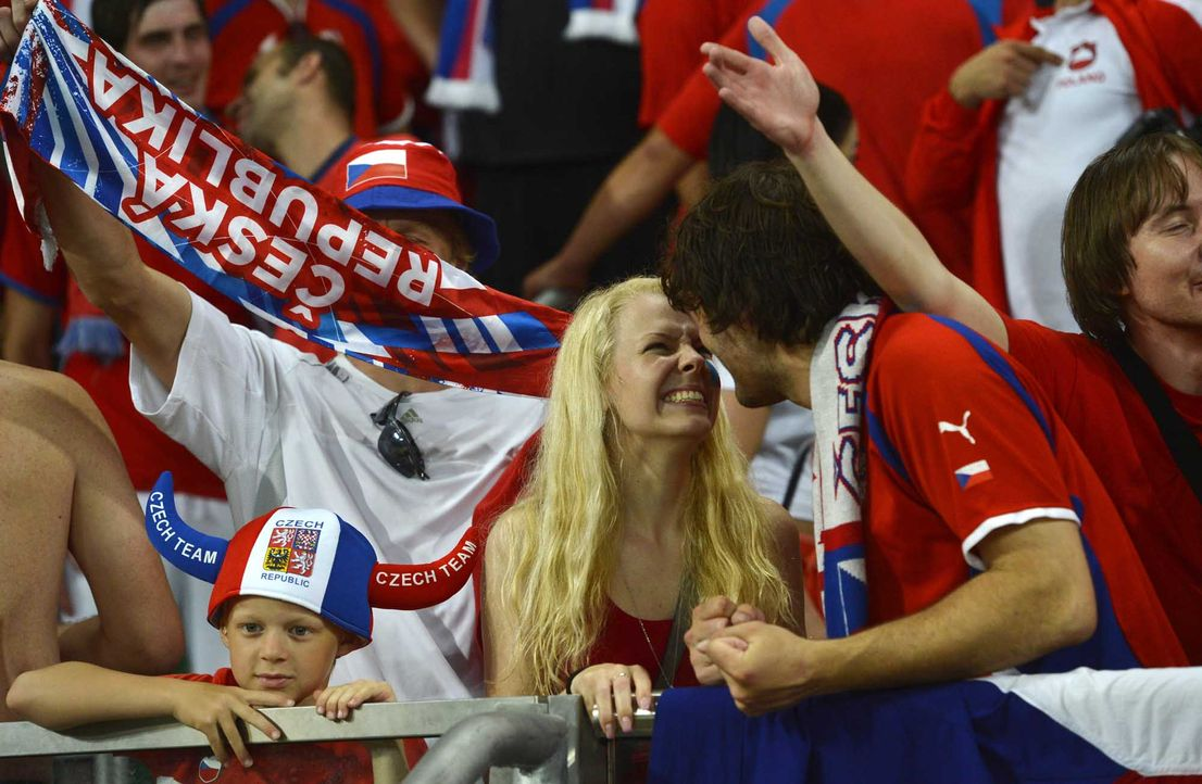 Fußball-Fan-Tschechien-120621-3-AFP - Bildquelle: AFP