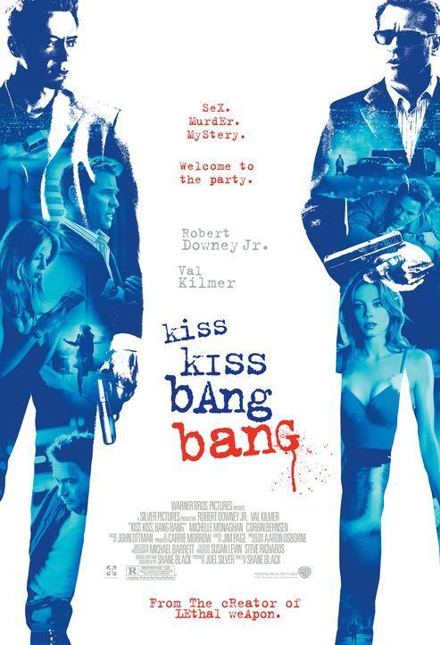 KISS KISS BANG BANG - Plakat - Bildquelle: 2015 © Warner Brothers