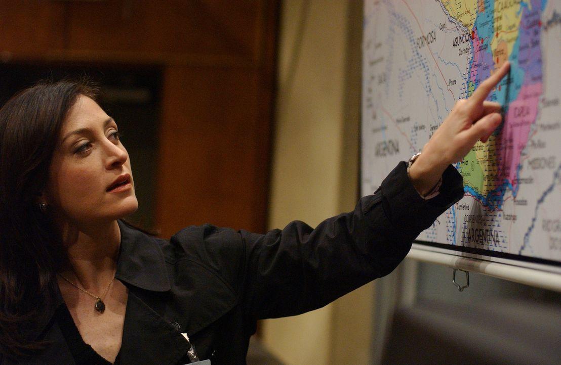 Kate Todd (Sasha Alexander) versucht herauszufinden, ob Lieutenant Commander Purcell an dem neuen fall beteiligt ist ... - Bildquelle: CBS Television