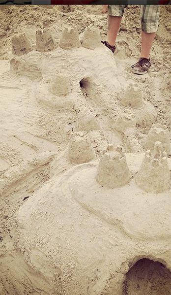 Sandburgen - Bildquelle: instagram