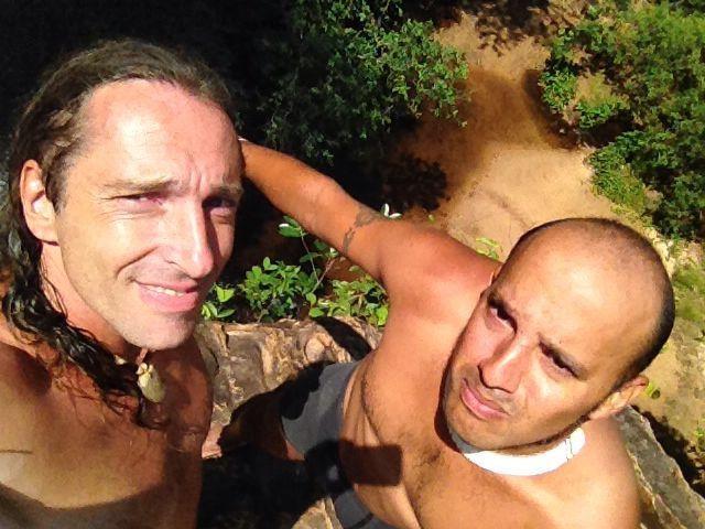 Francisco De La Torre und Richard Gress hoch oben