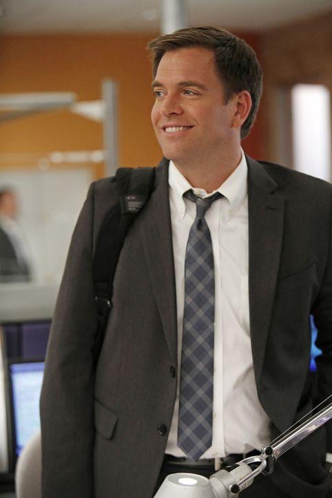 Versucht alles, um einen neuen Fall zu lösen: Tony (Michael Weatherly) ... - Bildquelle: CBS Television