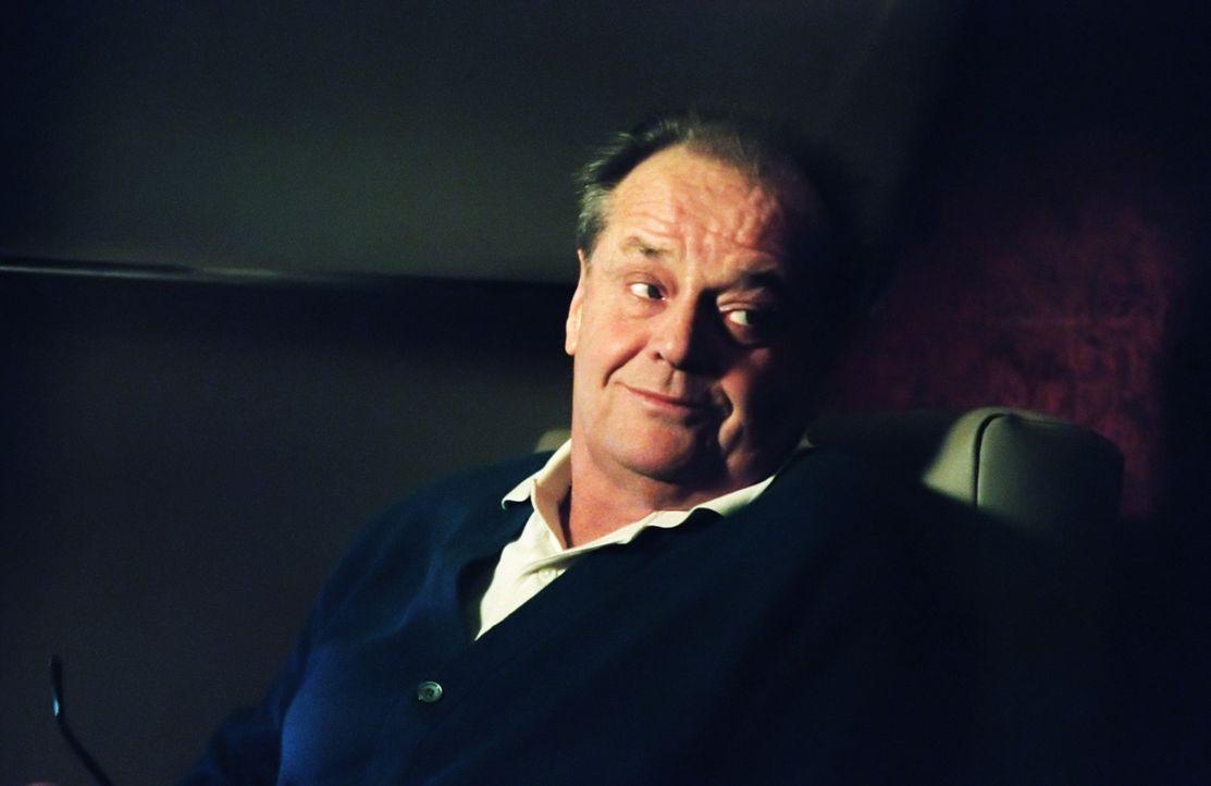 Der reiche und arrogante Großunternehmer Edward Cole (Jack Nicholson) erhält die erschütternde Diagnose Krebs. Er hat nur noch wenige Monate zu l... - Bildquelle: TM and   2007 Warner Bros. Entertainment Inc. All Rights Reserved.