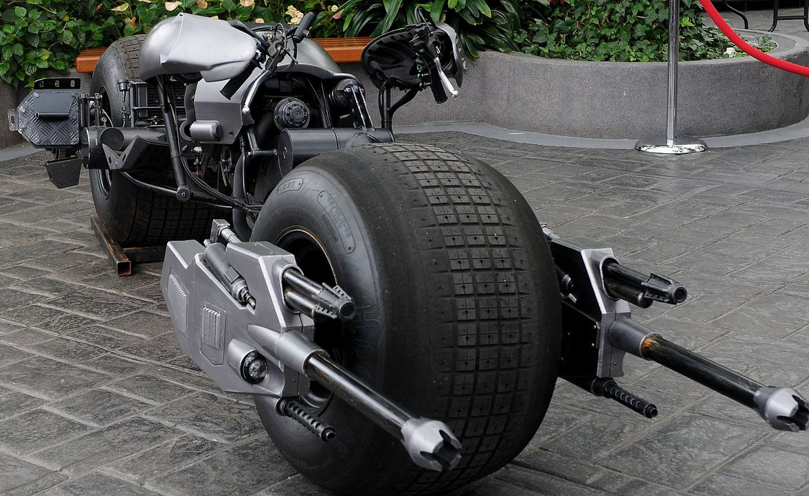 Bat-Pod-The-Dark-Knight-getty-AFP - Bildquelle: getty-AFP